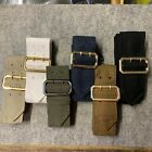 BRITISH ARMY SURPLUS No.1 & 2 TUNIC BELT,RAF BLUE,FAD BROWN,ROYAL MARINES BLUES