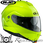 HJC IS-MAX 2 FLUO YELLOW FLIP UP FRONT MOTORCYCLE MOTORBIKE BIKE TOURING HELMET