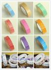 NEW Tape Decorative Sticky Paper Fabric Tape DIY Self Adhesive Craft Gift