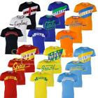Mens Soulstar Designer Nations Country Football T-Shirt Gym Sports Jersey Size
