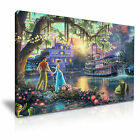 DISNEY The Princess And The Frog Canvas Framed Print Kids Room Deco ~ More Size