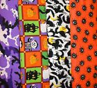 HALLOWEEN #5 Fabrics, Sold Individually, Not As a Group, By The Half Yard