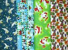 Clearance CHRISTMAS #7 Fabrics,Sold Individually,Not As a Group,By The Half Yard
