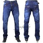 TRUE PEVIANI BAR G JEANS,  HIP HOP URBAN TIME IS MONEY MENS STAR LEATHER LOOK