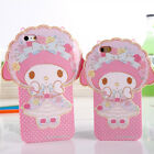Cute cartoon bow My Melody Rabbit soft tpu Case cover for apple iphone 6 6S plus