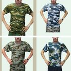 MEN'S LADIE'S MILITARY T-SHIRT ARMY  Digital Camo Pattern COMBAT CAMOUFLAGE HOT