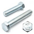 M8 (8mm) FULLY THREADED SET SCREW GRADE 8.8 ZINC SCREW HEXAGON HEX HEAD BOLT