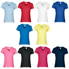 New Women's Premium Gildan T-Shirt Semi-Fitted Contoured Silhoutte Size 6-18/20