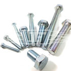 M14 (14mm) FULLY THREADED SET SCREW GRADE 8.8 ZINC SCREW HEXAGON HEX HEAD BOLT