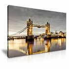 TOWER BRIDGE London Canvas Wall Art Picture Print ~ More Size
