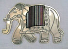 GRAND ÉCUSSON PATCH APPLIQUE à COUDRE - ÉLÉPHANT **16 x 23 cm** PATCHWORK CRAZY