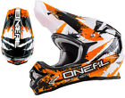 O'NEAL 3Series Helm SHOCKER Gr. XS S M L XXL ORANGE MX MotoCross Enduro Motorrad