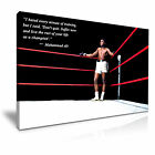 BOXING Muhammad Ali Canvas Wall Art Picture Print ~ More Size