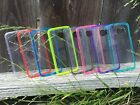 For Samsung Galaxy S6 /Edge New Slim TPU Gel Clear Back Color Bumper Case Cover