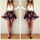 Long Sleeve Women Sexy Mini Short Dress Floral Evening Party Cocktail Dress ST2