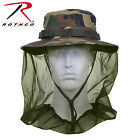 Rothco 5833 Boonie Hat w/ Mosquito Netting - Woodland Camo