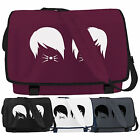 Dan and Phil Cat Whiskers Messenger Bag - Vlogger Laptop School College Bags