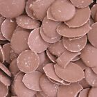 Kingsway Milk Chocolate Brown Buttons Drops Retro Candy Sweets 100g - 3kg