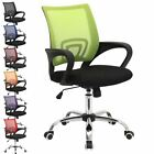 METRO MESH OFFICE CHAIR MEDIUM BACK WITH ARMRESTS COMPUTER DESK FURNITURE