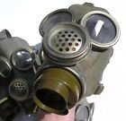 RUSSIA RUSSIAN SOVIET ARMY & NAVY RADIO OPERATOR MM1B  RESPIRATOR GAS MASK