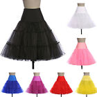 "Cheap Bridal 26"" Underskirt 50S Rockabilly Vintage Petticoat Fancy Skirts Dress"