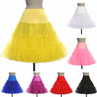 CHEAP 50s Wedding Underskirts Swing Vintage Petticoat Dress 7 COLORS