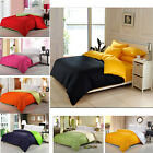 100% Cotton Bedding Duvet Quilt Cover With Pillow Case Set All Size