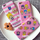 Cute new cartoon Mosaics Sailor Moon soft case cover for apple iphone 6 6s plus