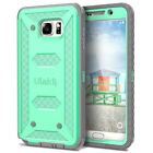 For Samsung Galaxy Note 5 Case Hybrid Rugged Shockproof Scratch Resistant Cover