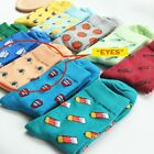 Fashion Casual Socks Fruit Happy Pill Pencil Theme Cosy Unisex Free Gift