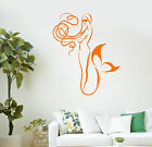 Wall Vinyl Sticker Decal Mermaid Bathroom Decor Kids Room Art (ig2120)