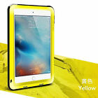 LOVE MEI Waterproof Metal Gorilla Glass Case Cover For iPad 2 3 4/Air 2/iPad Pro