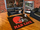 Cleveland Browns Man Cave Area Rugs Choose Size