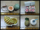 ORCARA Miniaturpuppen House Food Box Pfirsiche Pineapple Saftflasche 12. Scale
