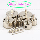 6mm-60mm Silver Diamond Hole Saw Core Drill Bits Tool Glass Tile Granite Marble