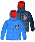 Boys Official Spiderman Puffa Coat New Kids Padded Winter Jacket Ages 3-8 Years