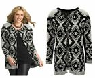 NEW LADIES WOMANS WINTER EVENING PARTY GLITTER CARDIGAN JACKET PLUS SIZE 14-24
