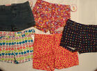 CIRCO GIRLS XS S or M Everyday Shorts Choice NWT Adjustable Waist Zip Snap Front