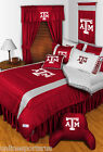 Texas A&M Aggies Comforter Sham Bedskirt Pillowcase Twin to King Size