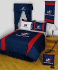 Columbus Blue Jackets Comforter Bedskirt Sham Valance Curtains Twin to King Size