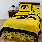 Iowa Hawkeyes Comforter Bedskirt and Sham Twin Full or Queen Size CC