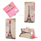 for Samsung Galaxy Note 4 Flip Leather Wallet Case Cover w/ Card Holder Stand