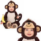 Infants Monkey Around Cute Kids Baby Childrens Fancy Dress Outfit Onesie Costume