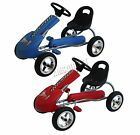 FoxHunter Kids Go Kart Ride On Car With Pedal Rubber Wheels Adjustable Seat New