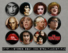 Rocky Horror Picture Show - Set of 12 Buttons or Magnets - 2 sizes available