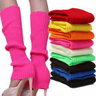 Women Winter Warm Knit Crochet High Knee Leg Warmers Leggings Boot Socks