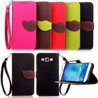 Flip Skins Card Wallet Leather TPU Case Cover Stand For Samsung Galaxy Note 5 A8