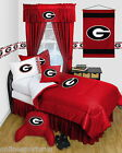 Georgia Bulldogs Bed in a Bag Twin Full Queen Size Comforter Set