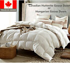 Canadian Hutterite or Hungarian White Goose Down Duvet Comforter Fill In Canada