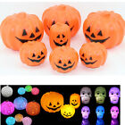 LED Colorful Skull Pumpkin Light Halloween Party Decoration Prop Table Lamp